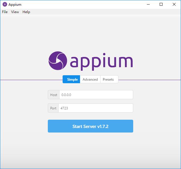 Appium-Desktop