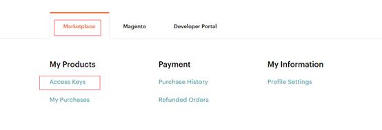 Magento Marketplace 获取 Public key 及 Private key